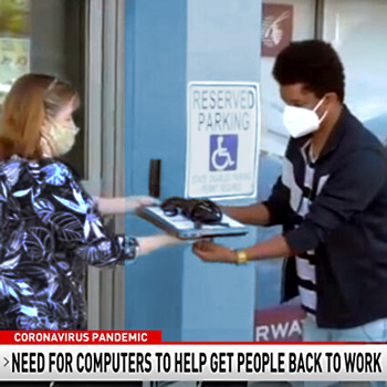 Computer CORE gives students the tools and equipment for career advancement - See the WJLA video.